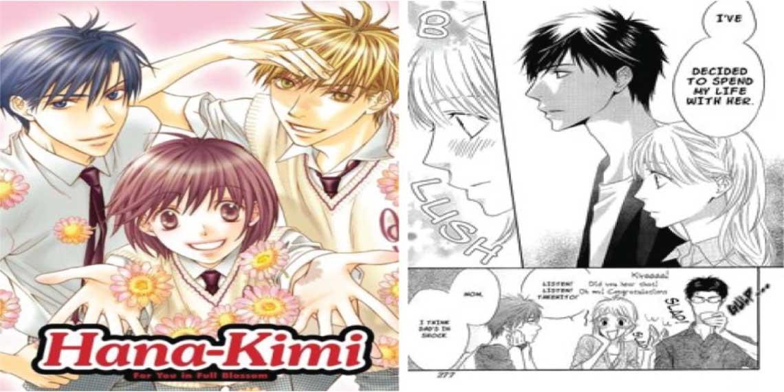 Hana-Kimi: For You in Full Blossom- best harem manga