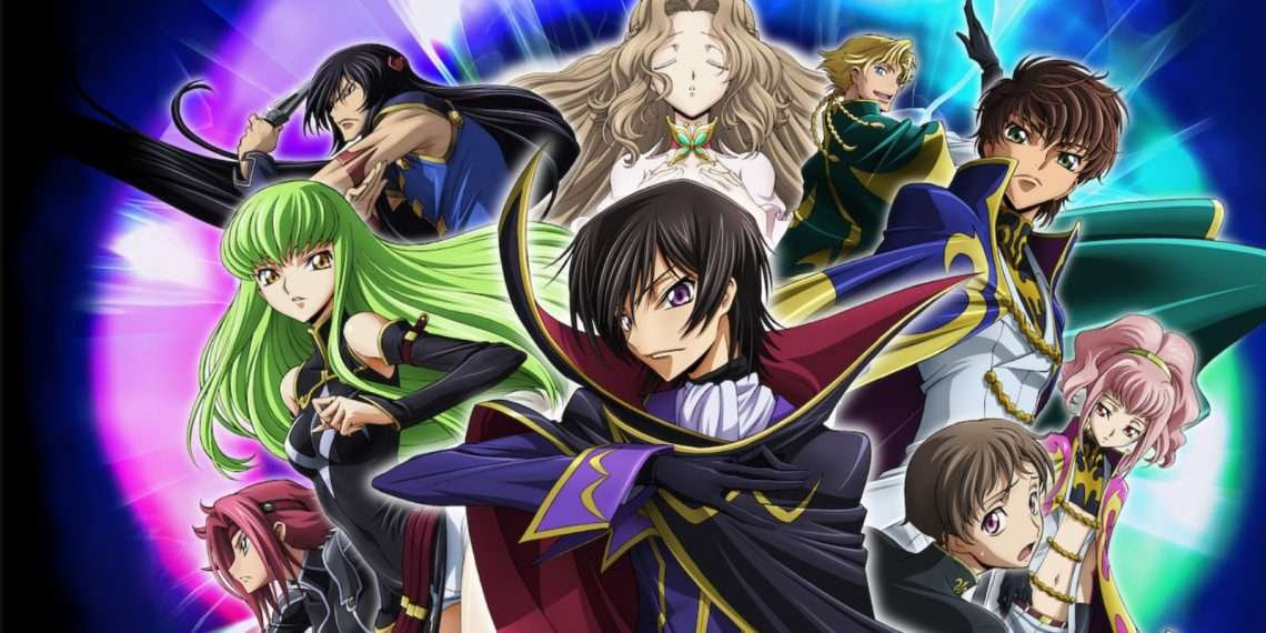Code Geass- best anime of all time