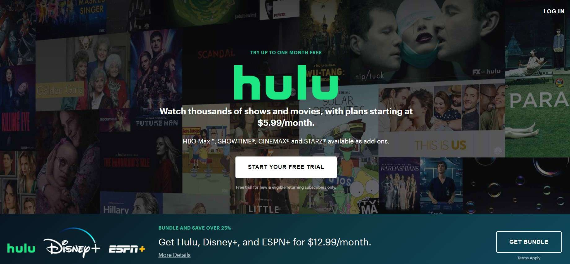 Hulu- how to watch anime for free