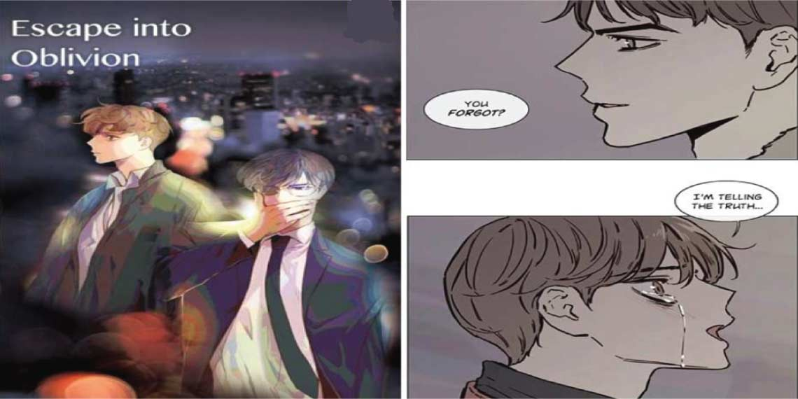 Escape into Oblivion- best bl manhwa