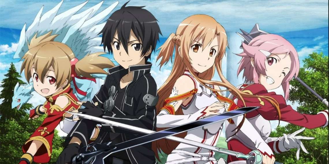 Sword Art Online- best anime of all time
