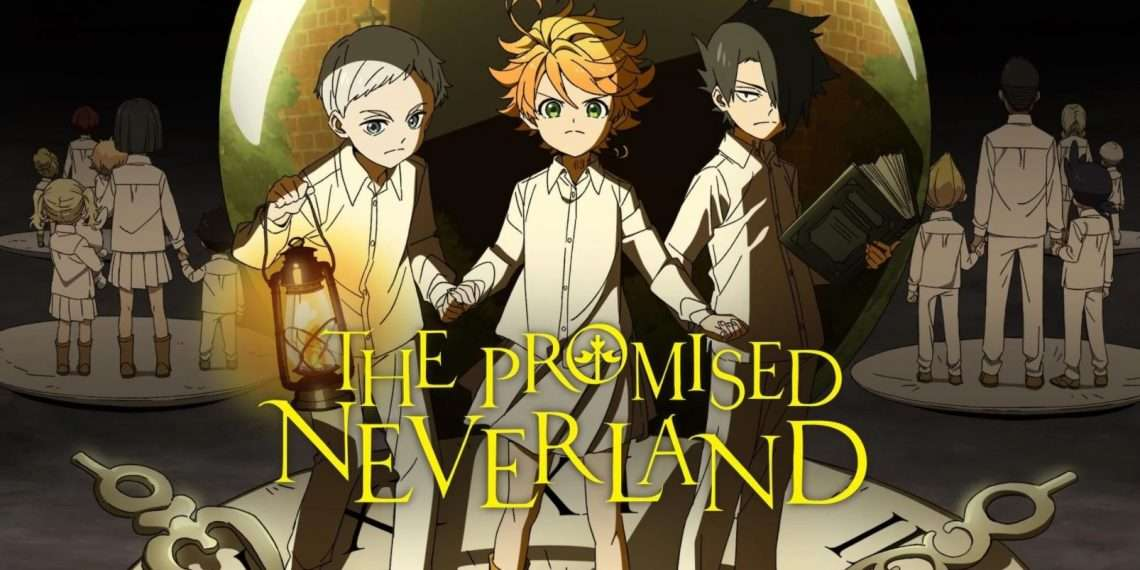 The Promised Neverland- best anime of all time