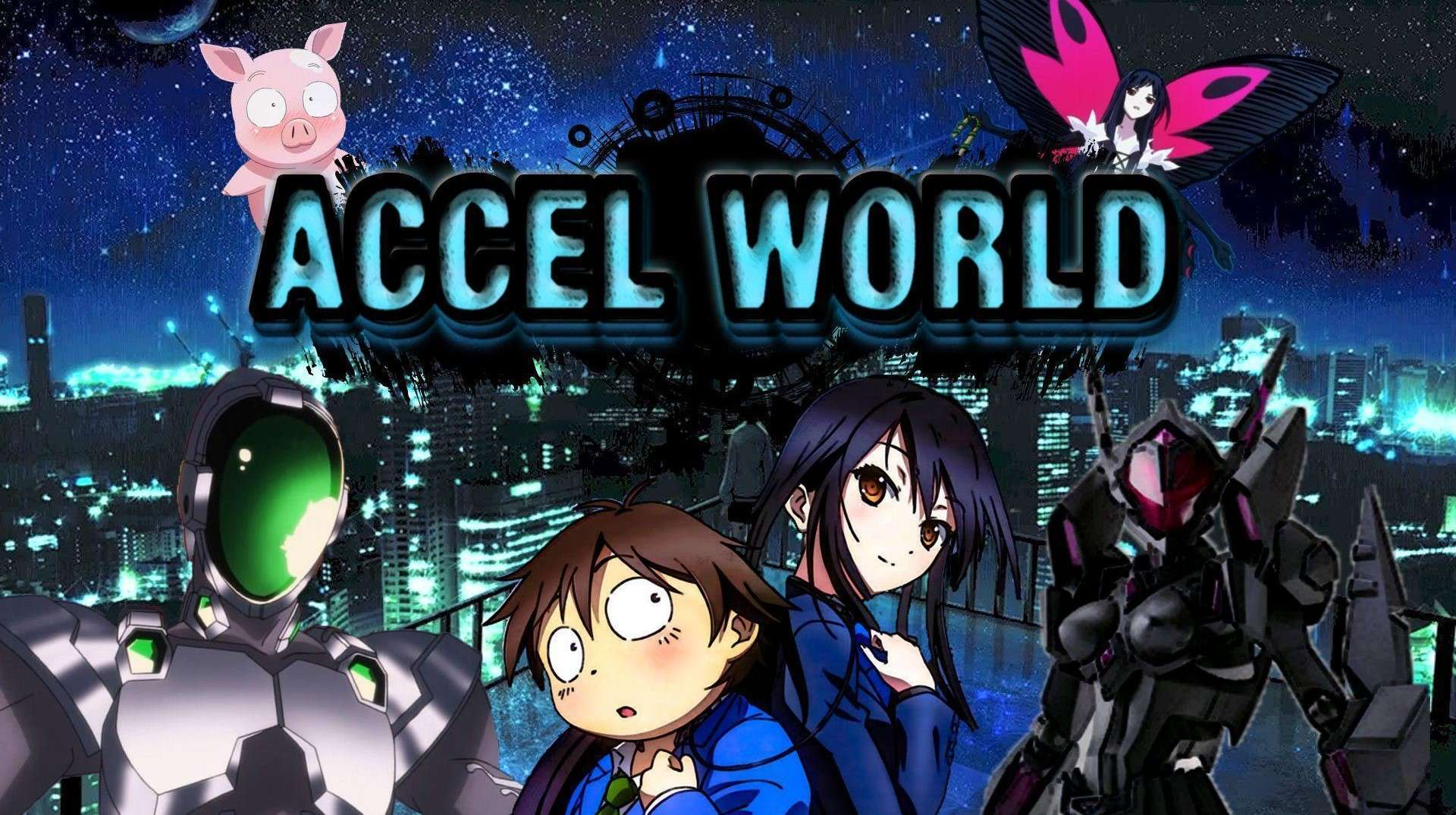 Accel World- anime like overlord