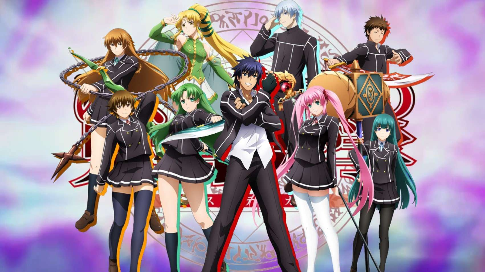 anime like the misfit of demon king academy