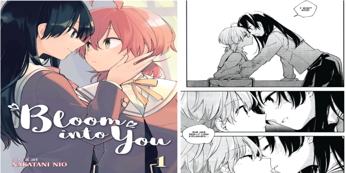 Bloom into You- best yuri manga