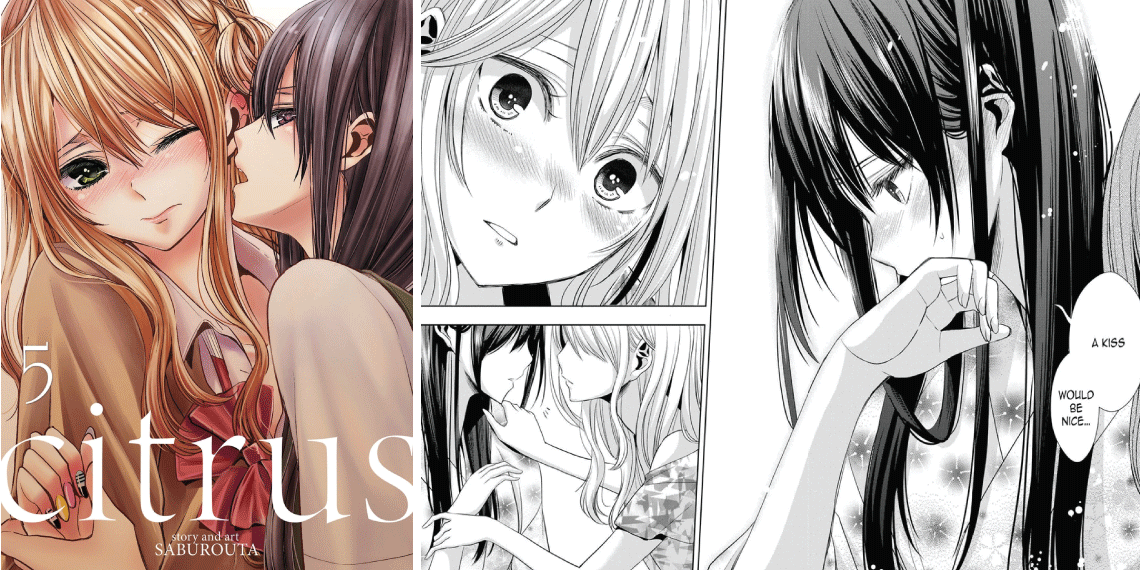 Citrus- best yuri manga