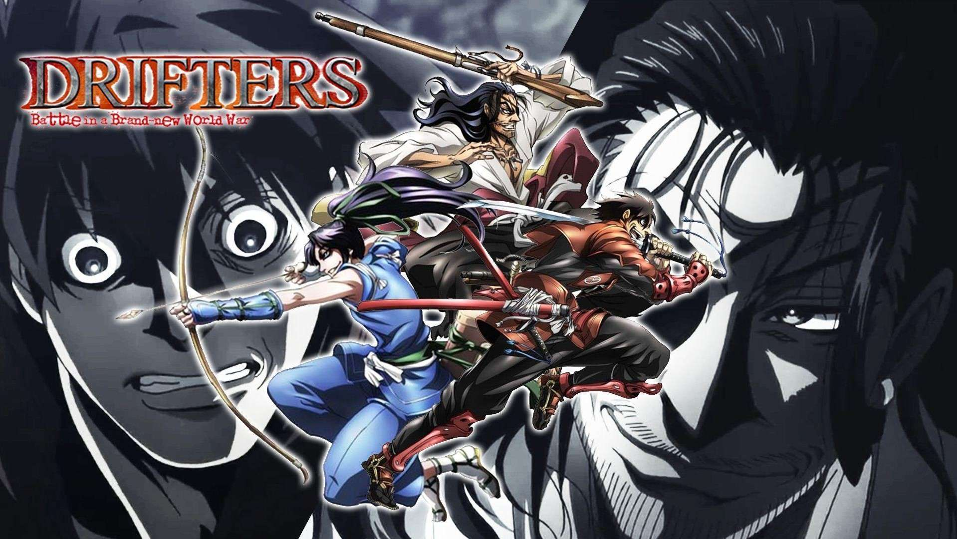 Drifters- anime like overlord