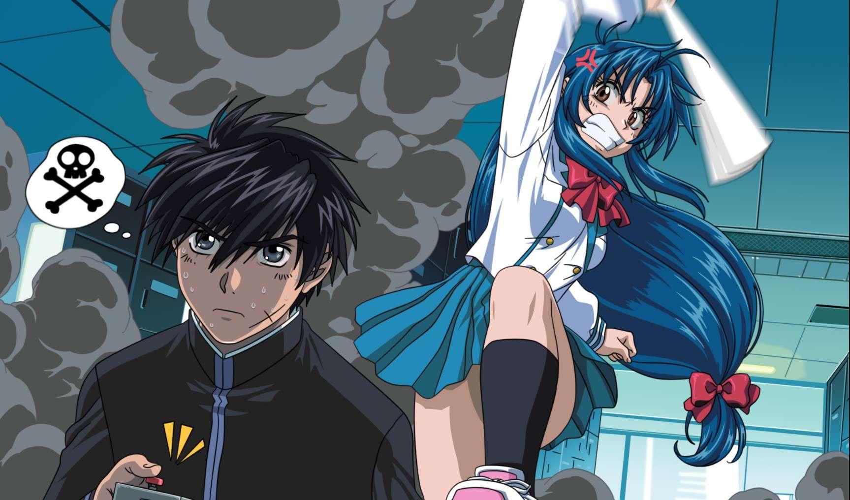 Full Metal Panic- best dubbed anime
