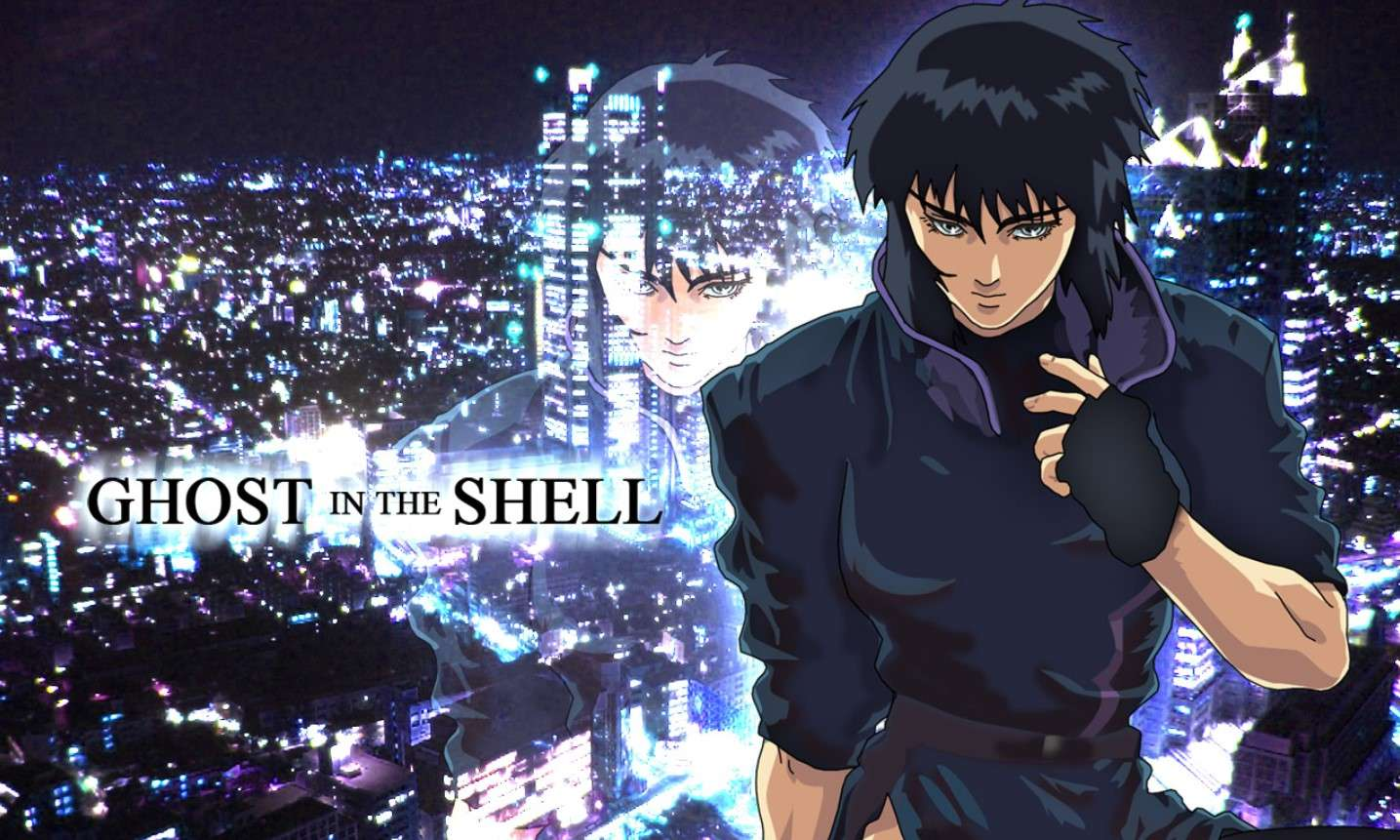 Ghost in the Shell- best dubbed anime