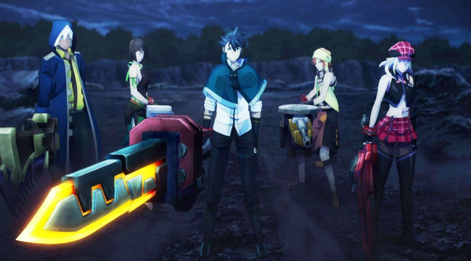 God Eater- anime like attack on titan