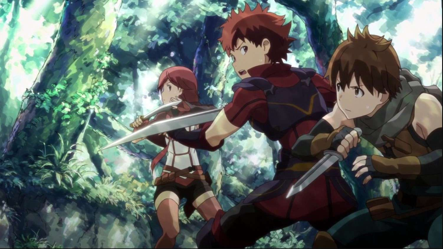 Grimgar: Ashes and Illusions- anime like overlord