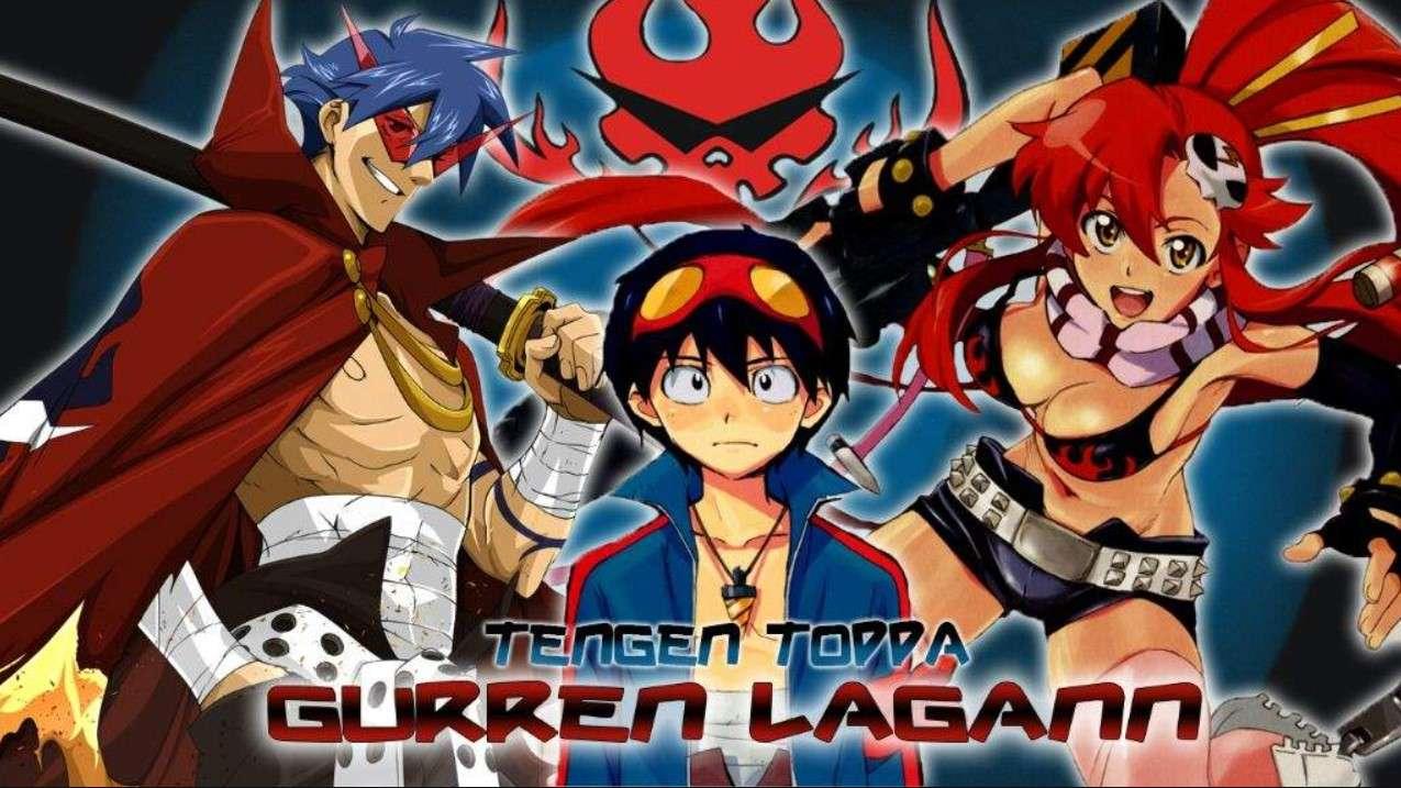 Tengen Toppa Gurren Lagann- anime like attack on titan