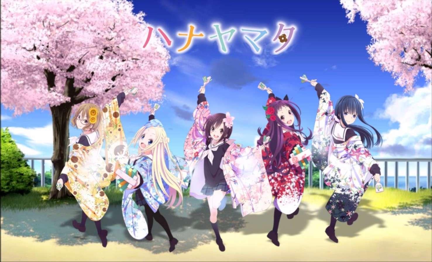 Hanayamata- cute anime show