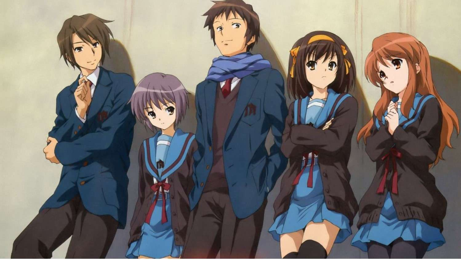 the disappearance of harushi suzumiya- best anime movies to watch