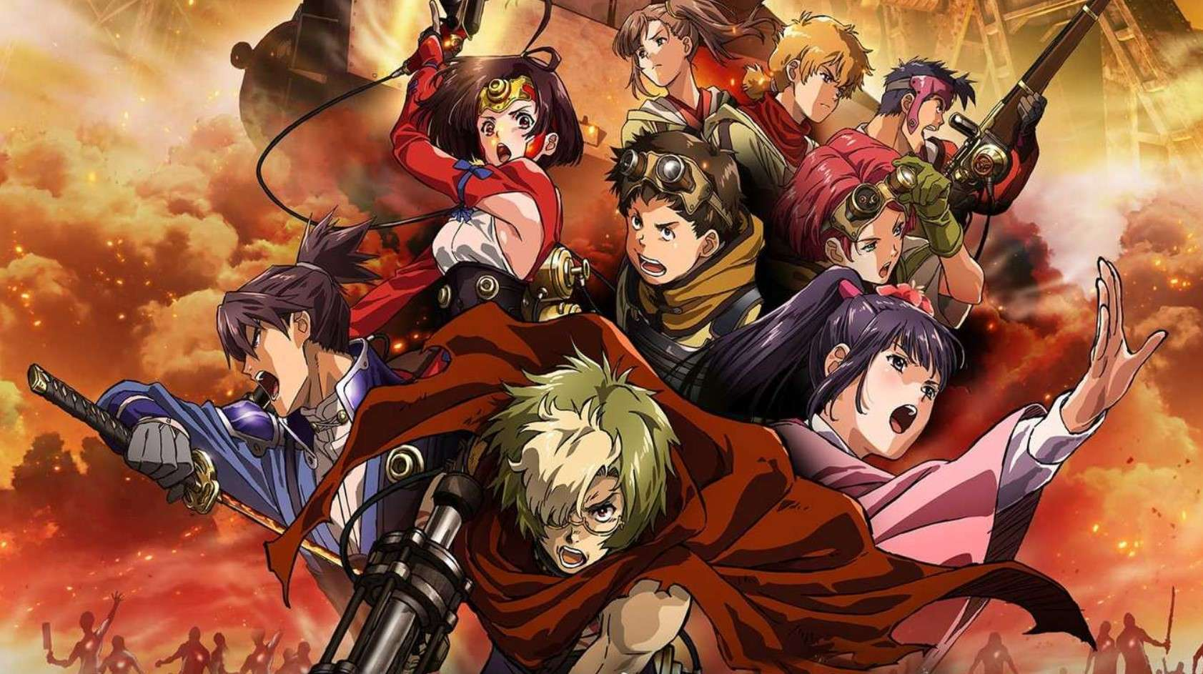Kabaneri of the Iron Fortress- anime like attack on titan