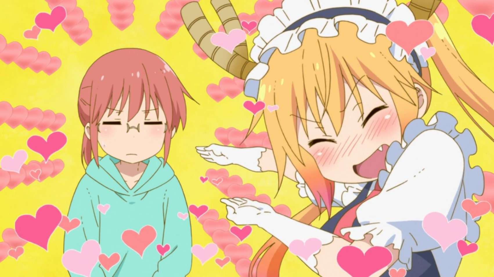 Kobayashi's Dragon Maid- cute anime