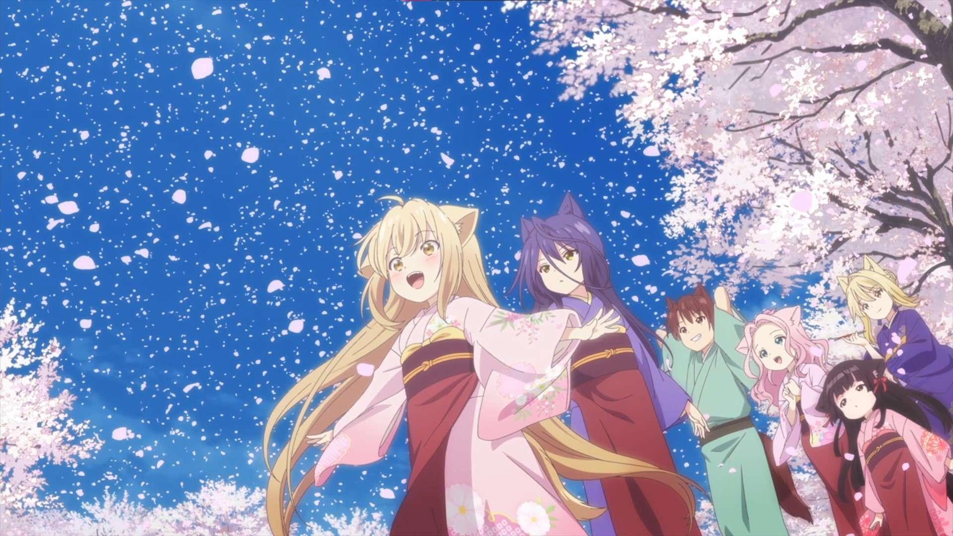 Konohana Kitan- cute anime