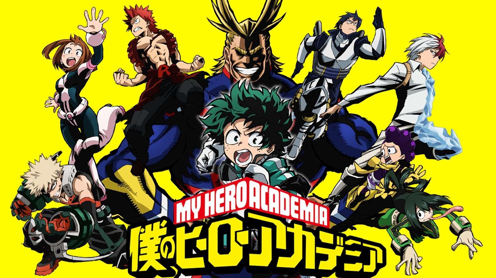 My Hero Academia- best dubbed anime