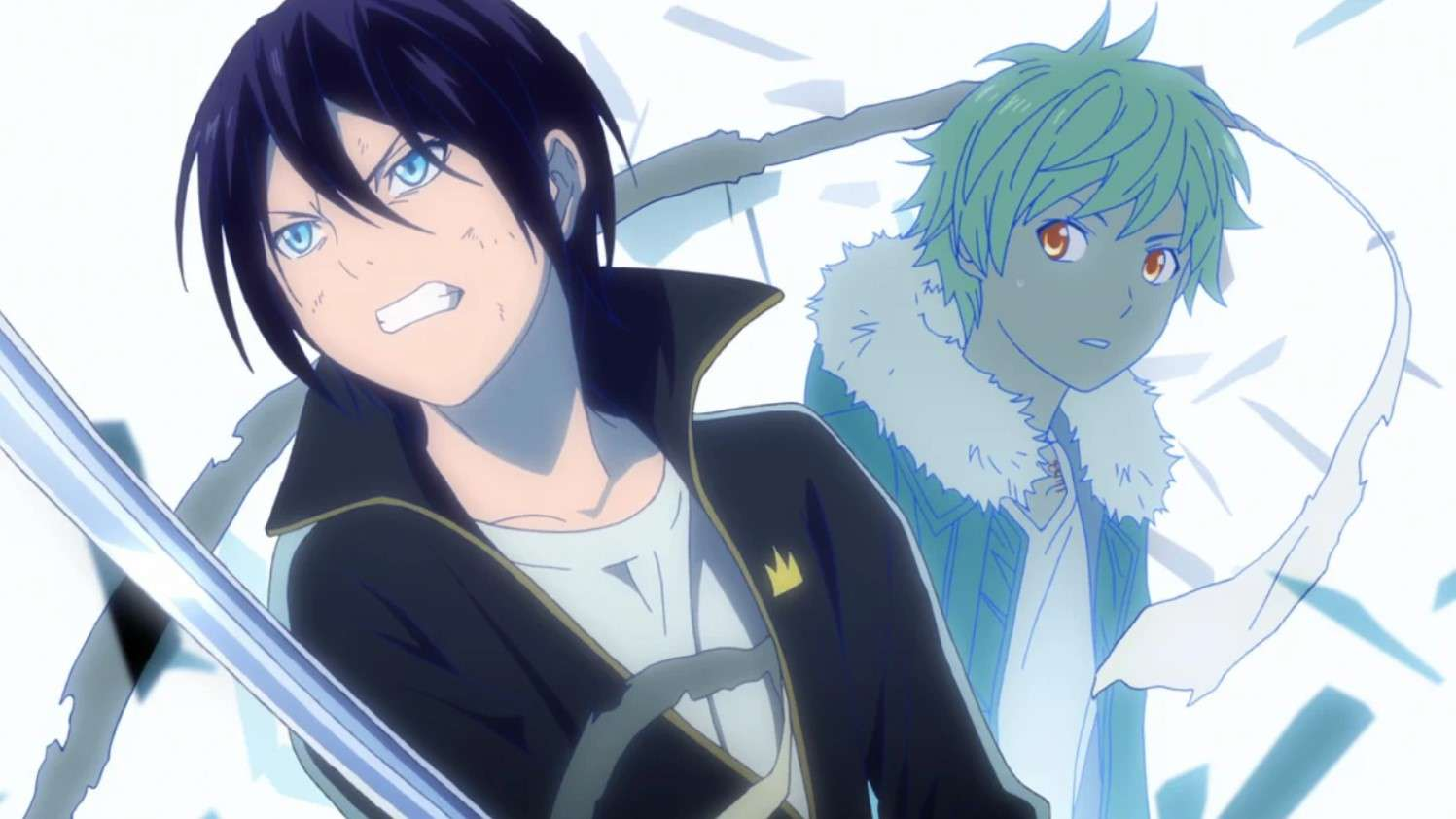 Noragami- best dubbed anime