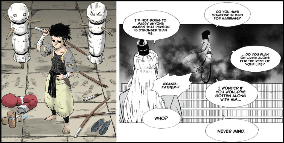 Red Storm- manhwa like tower of god
