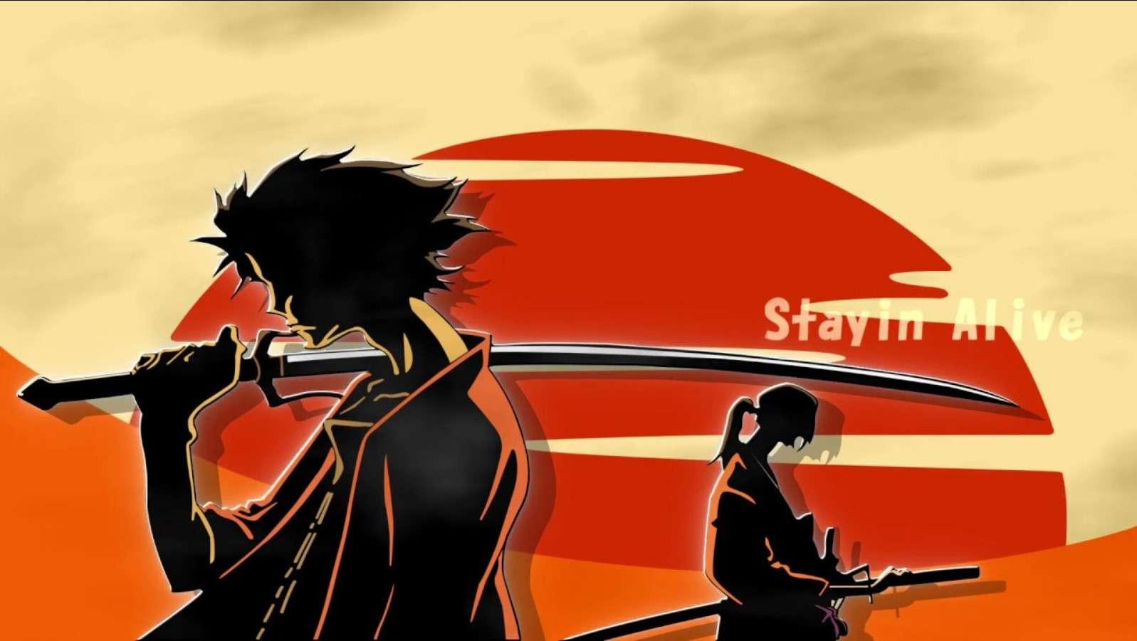 Samurai Champloo- best dubbed anime