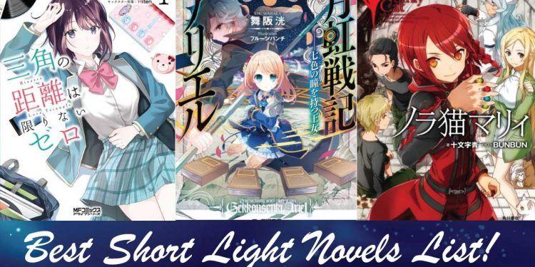 best short light novels