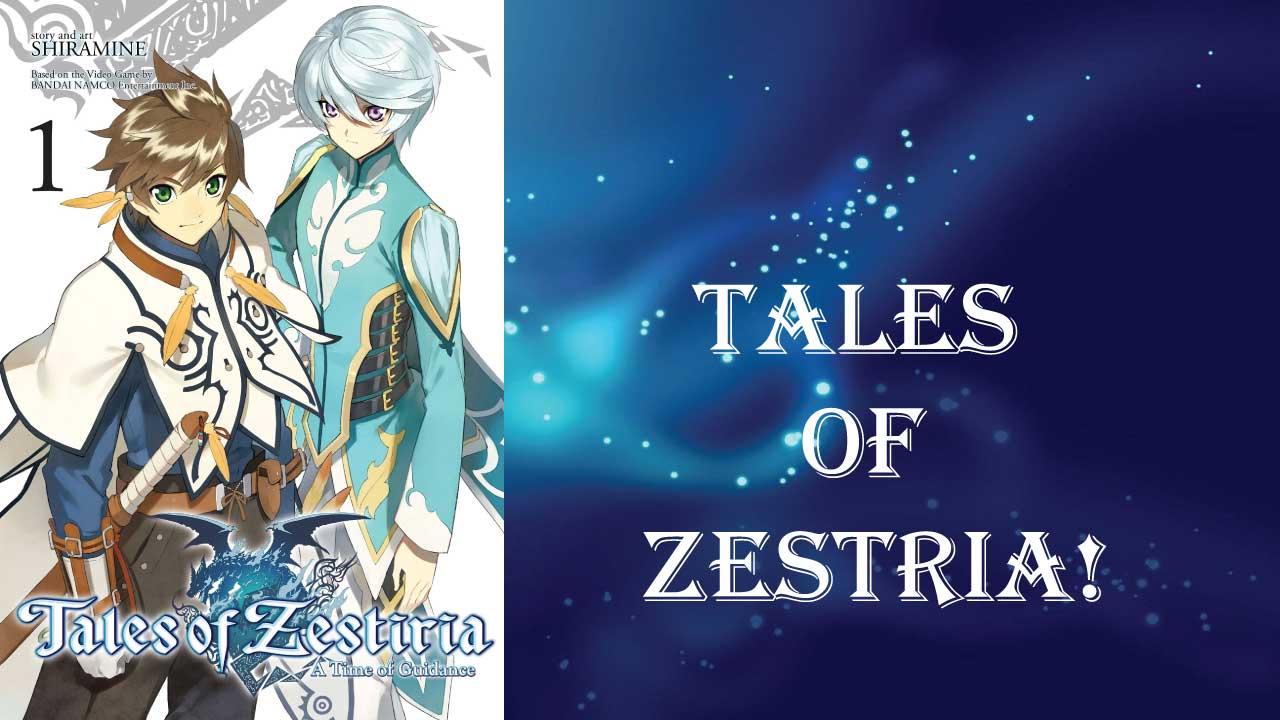 Tales of Zestria- best short light novels