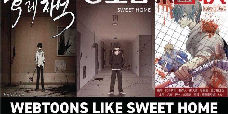 webtoons like sweet home