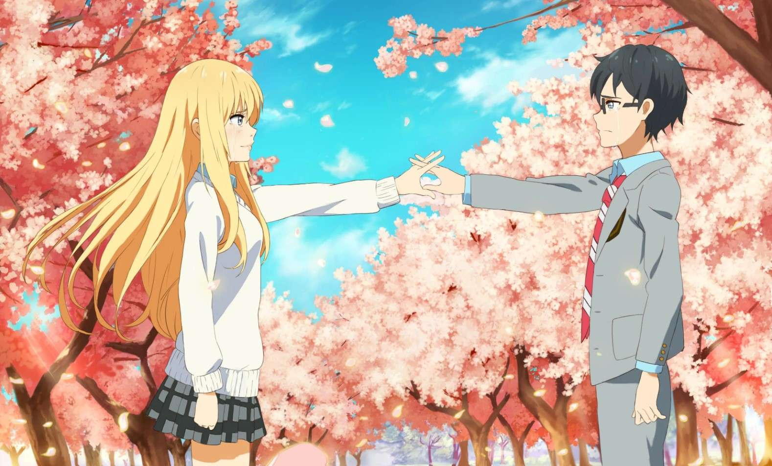 Your Lie in April- best dubbed anime