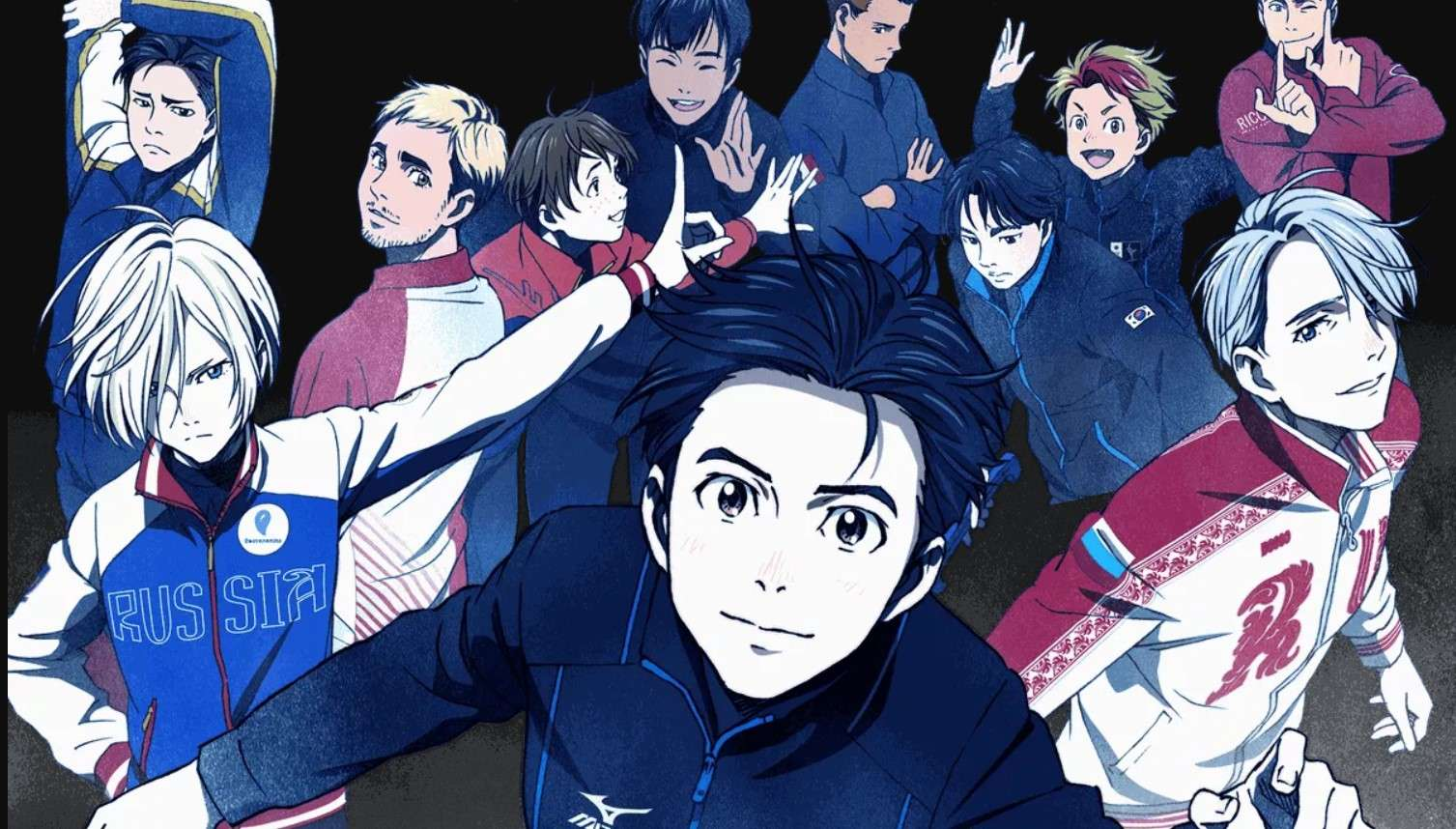 yuri on ice- best sports anime