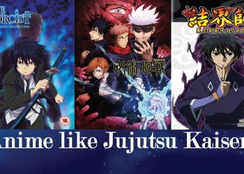 anime like jujutsu kaisen