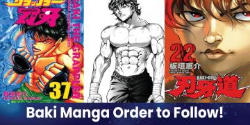 baki manga order