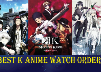 K anime watch order guide
