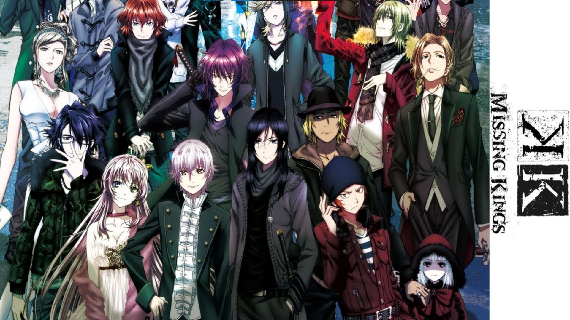 K: Missing Kings- k anime watch order guide