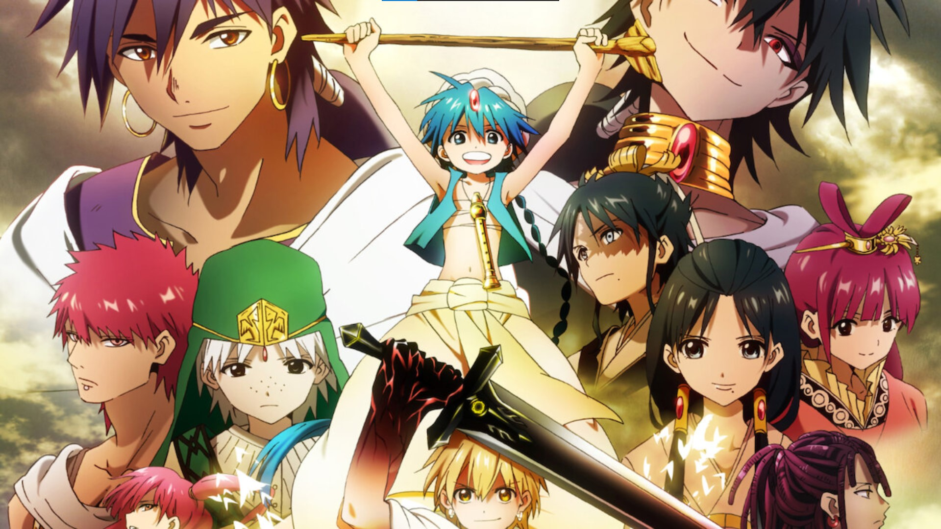The Labyrinth of Magic - magi anime watch order