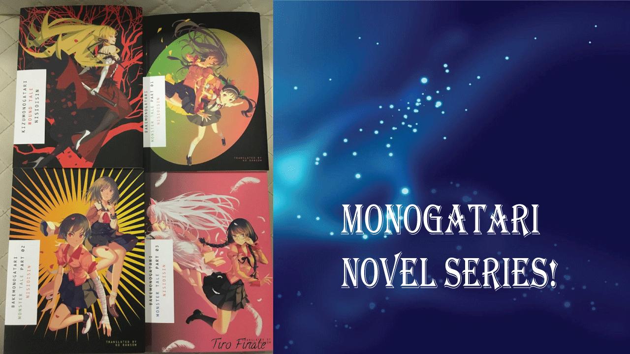 Monogatari- best light novels