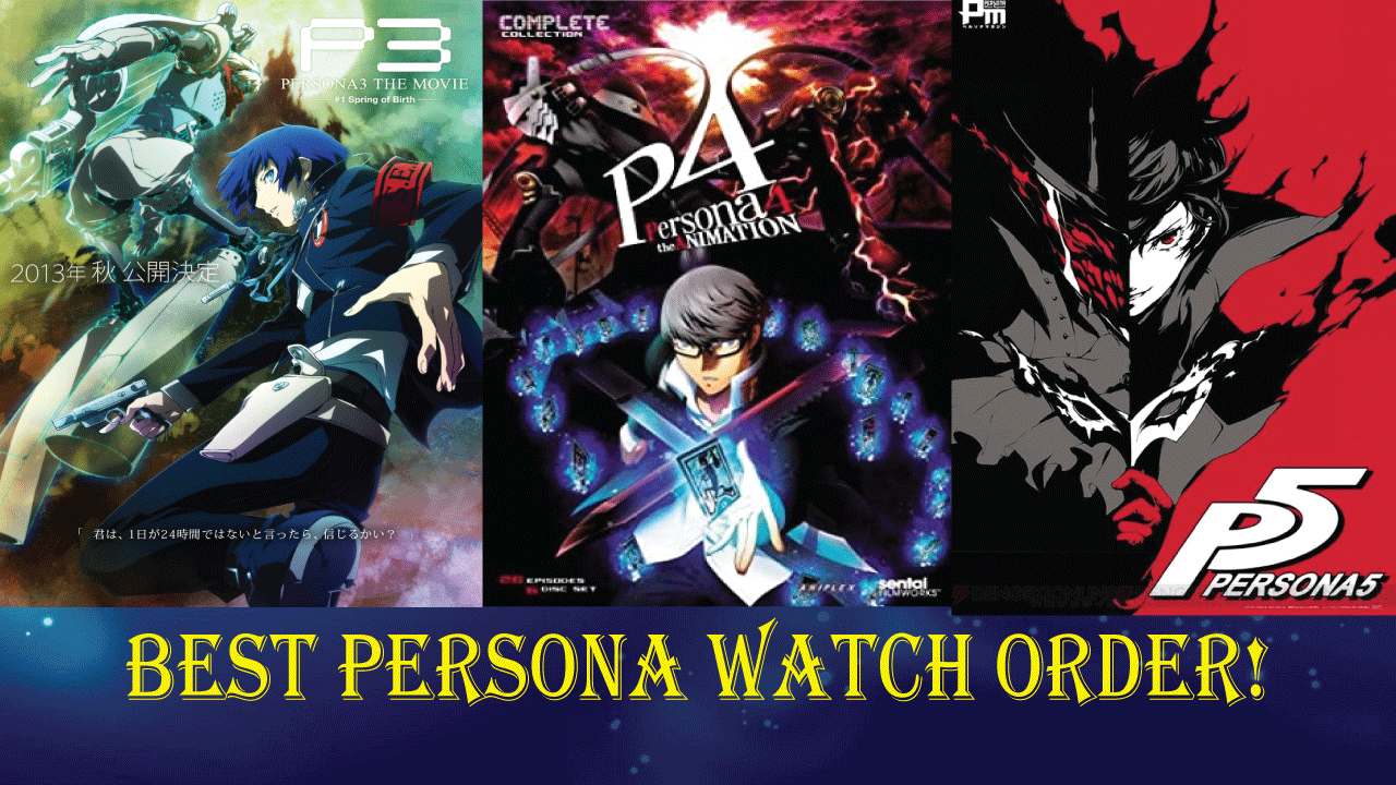 List games persona of List of