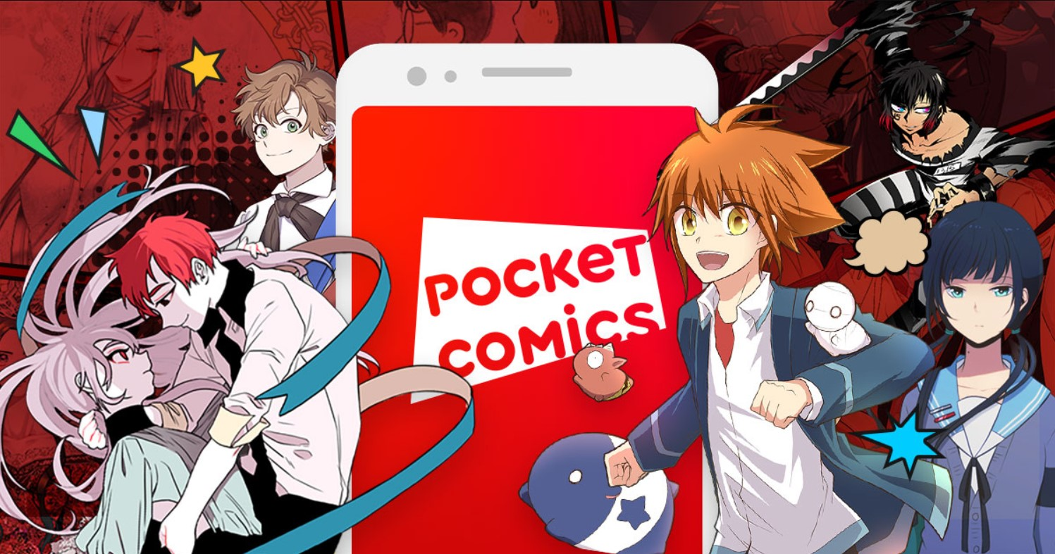 Pocket Comics- best webtoon apps/free webtoon apps