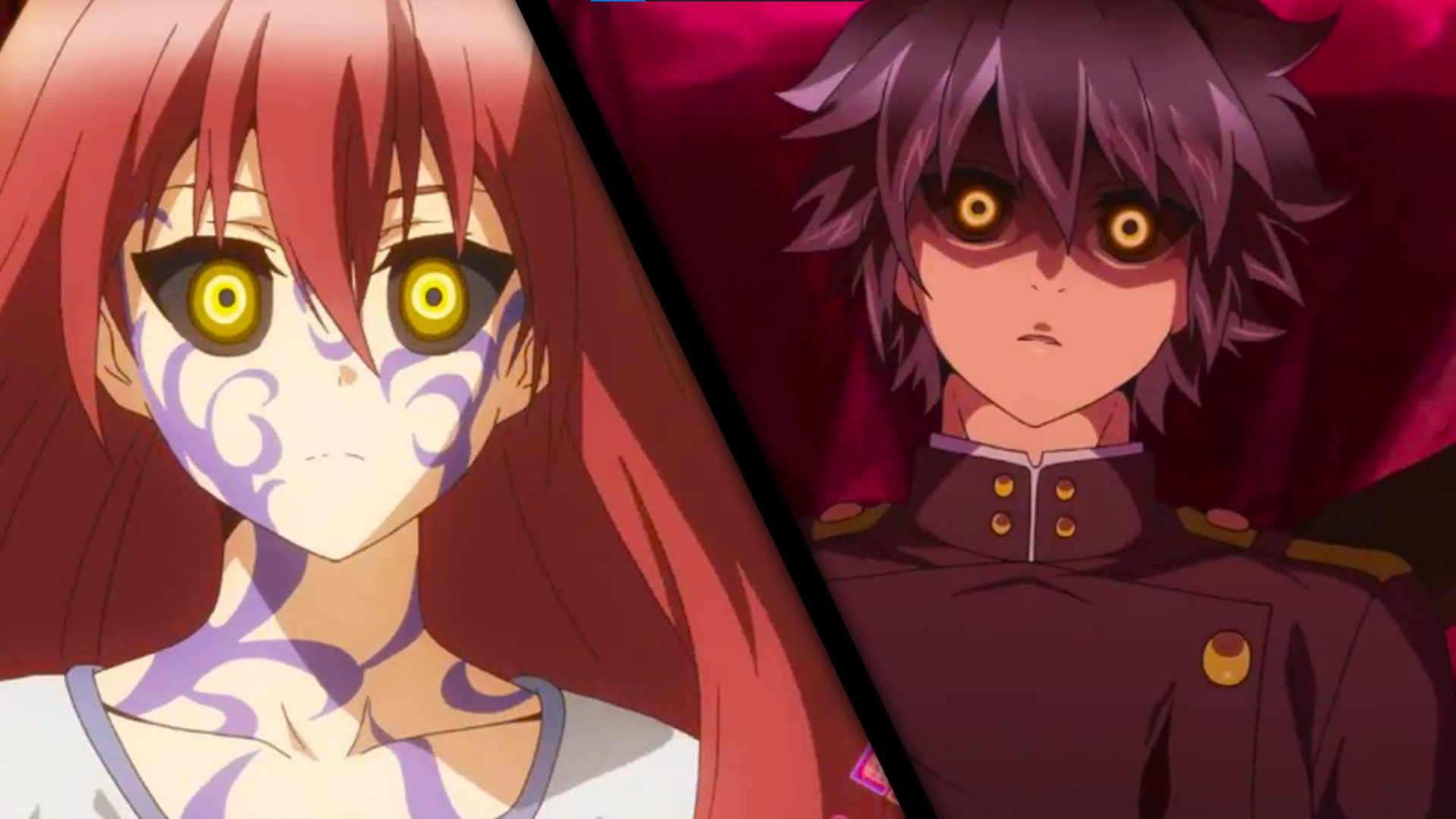 Seraph of the End- anime like black clover/anime similar to black clover