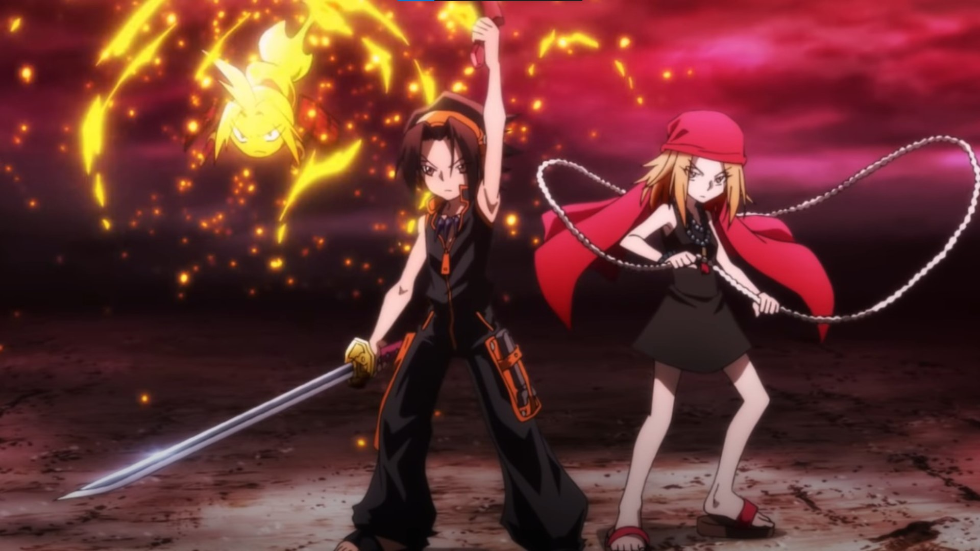 Shaman King- anime like Jujutsu Kaisen