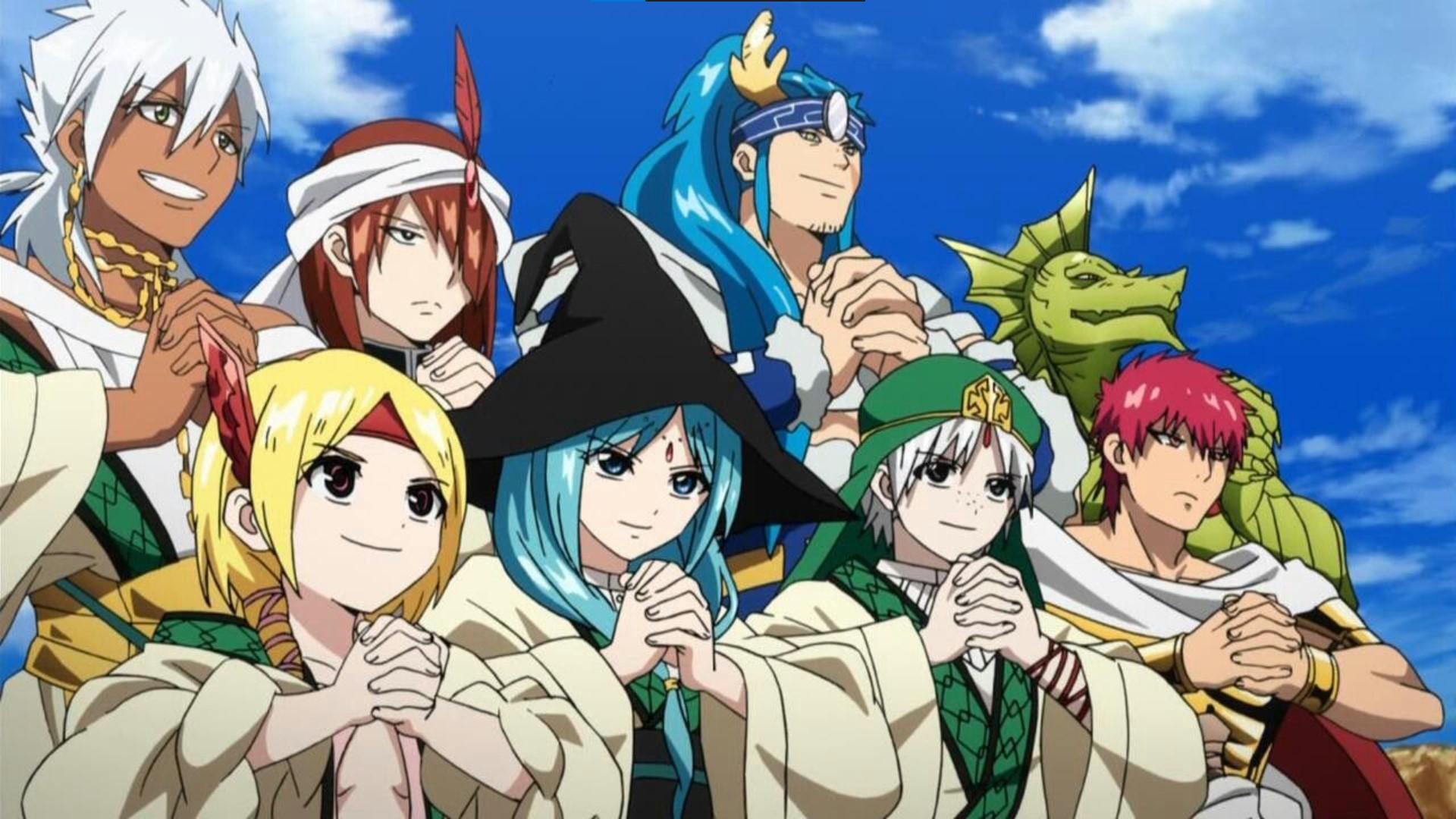 Adventure of Sindbad - magi anime watch order
