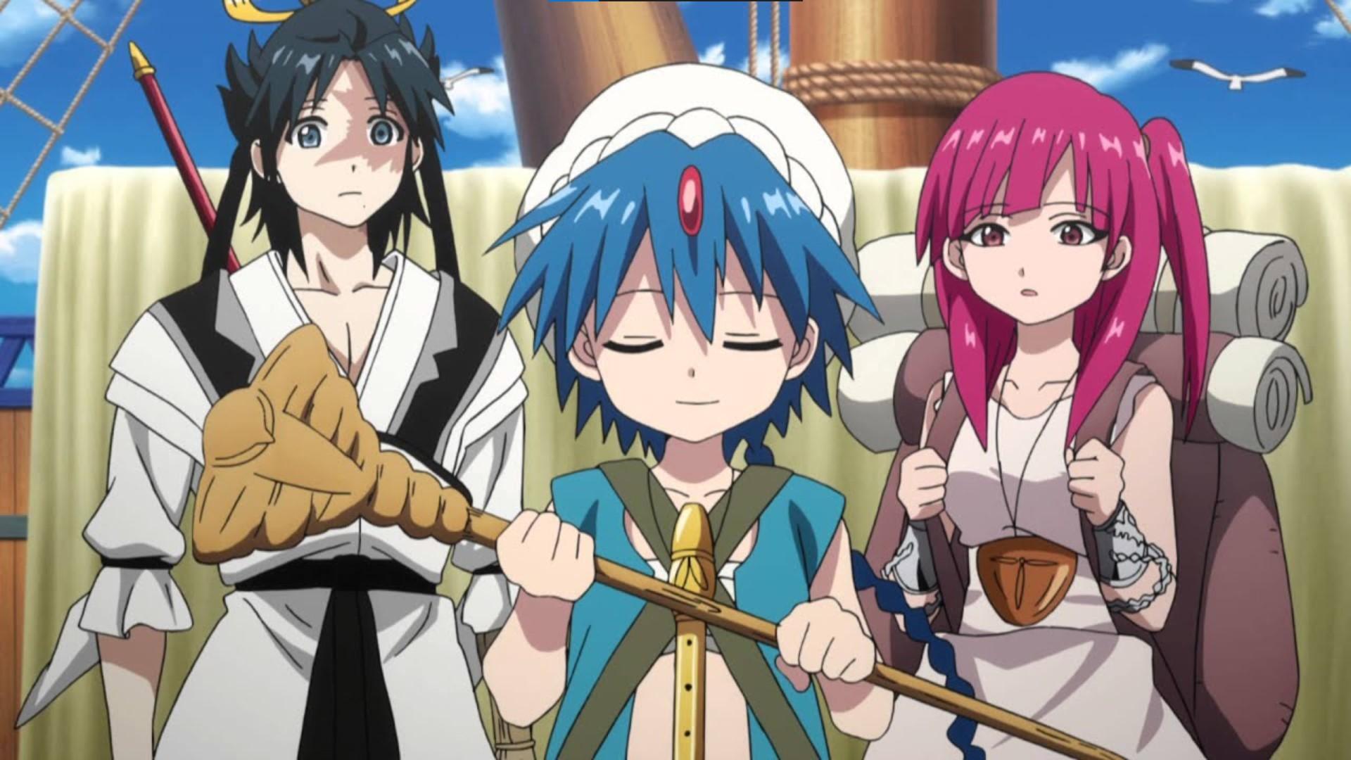 The Kingdom of Magic- magi anime watch order
