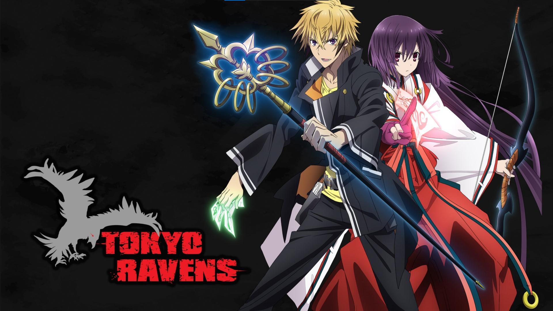 Tokyo Ravens- anime like Jujutsu Kaisen