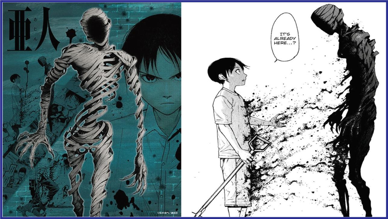 Ajin: Demi Human- manga like Tokyo Ghoul