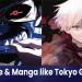 anime like tokyo ghoul/manga like tokyo ghoul