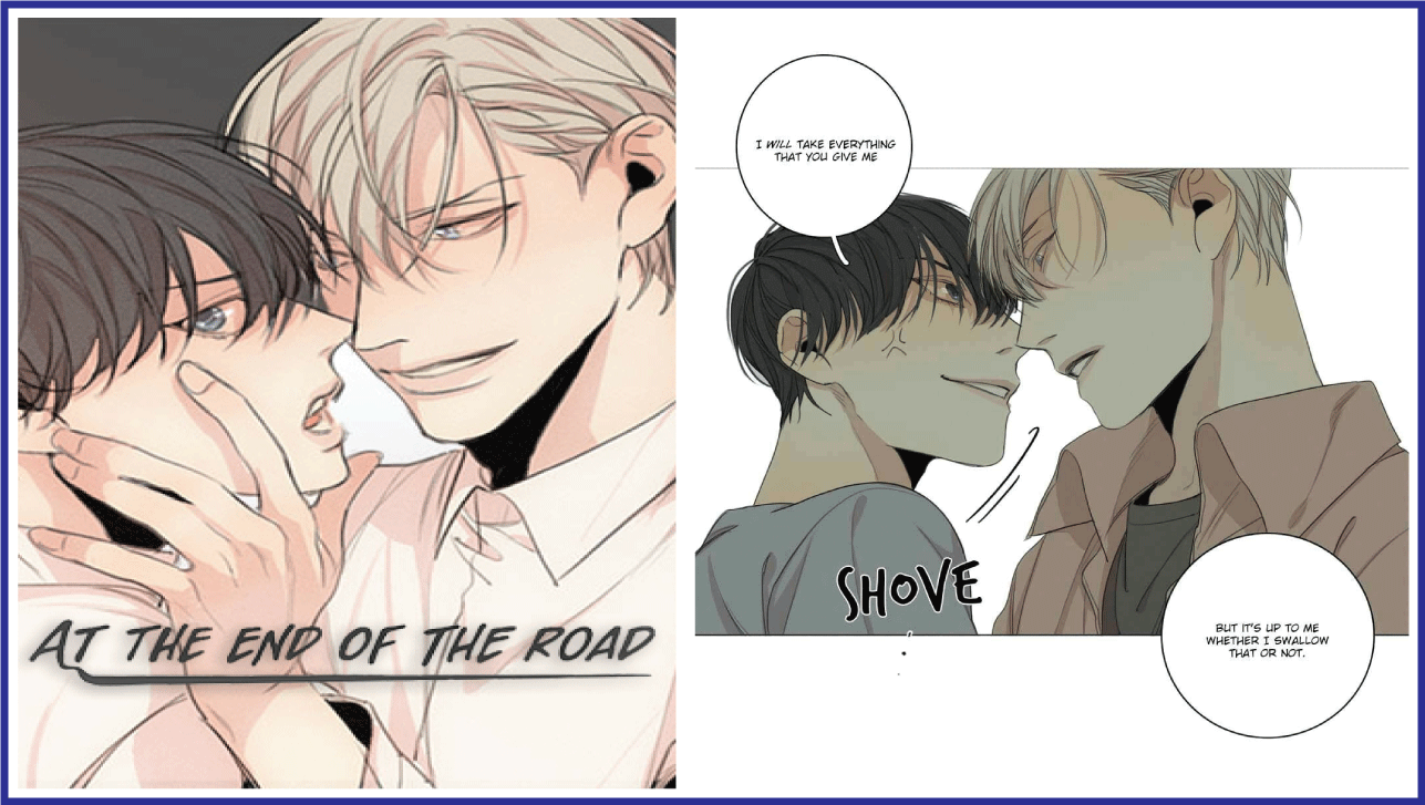 At the End of the Road- Manhwa like Killing Stalking!