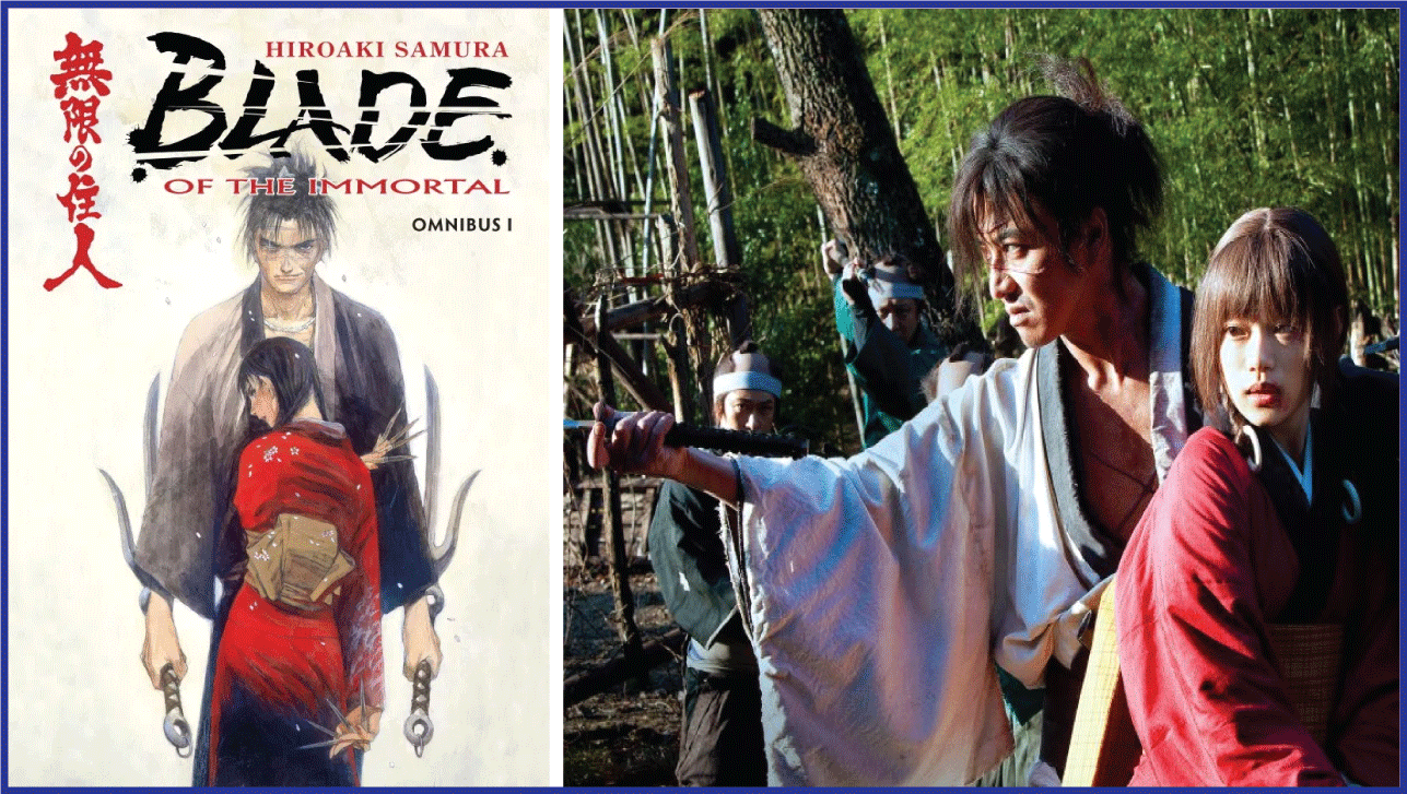 Blade of the Immortal- Live Action Anime Movies