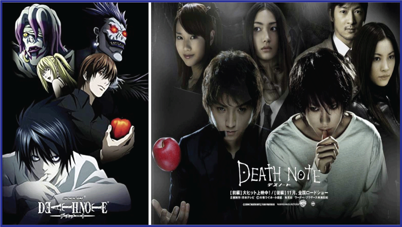 Death Note- Live Action Anime Movies