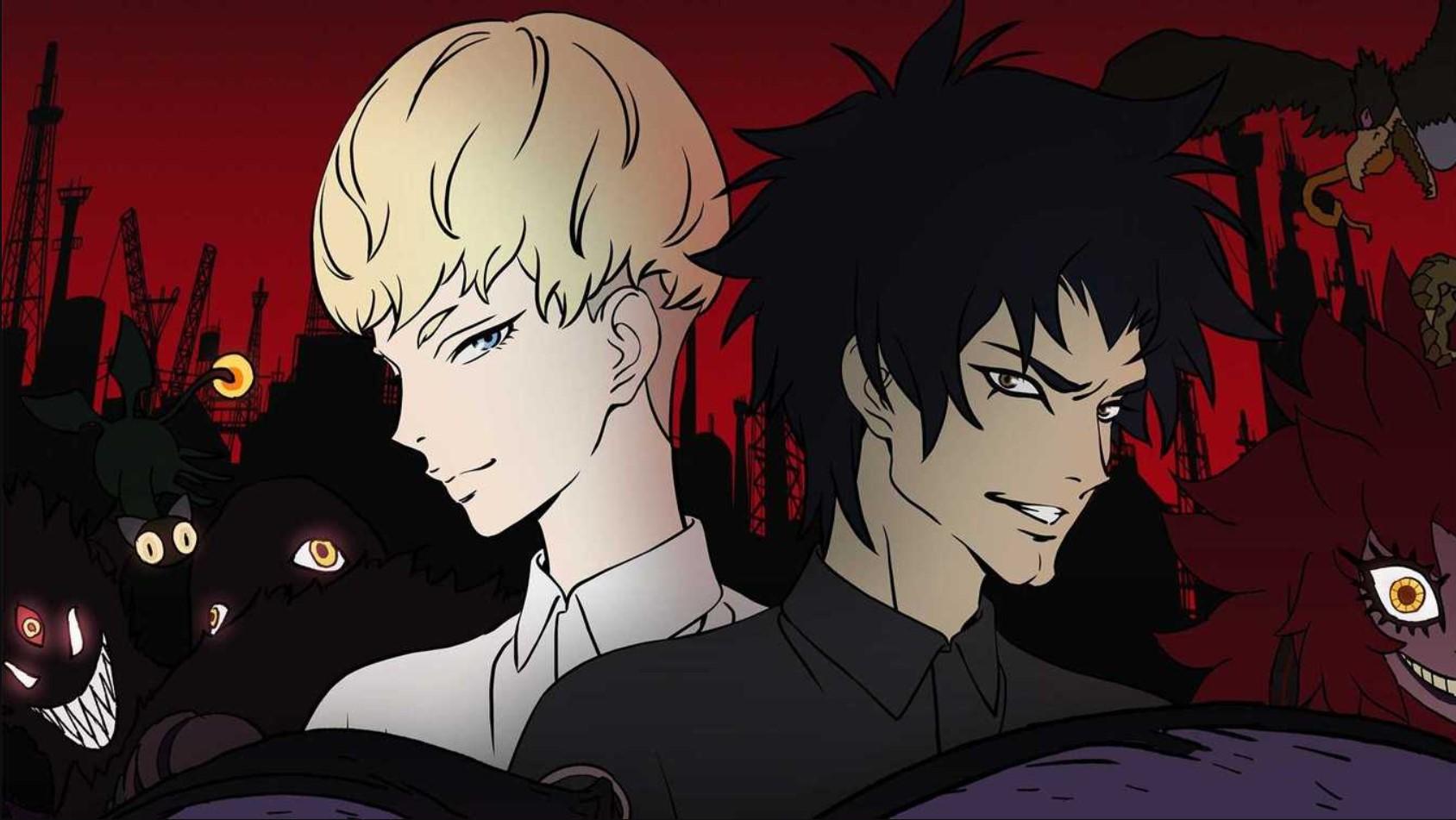 Devilman: Crybaby- anime like Tokyo ghoul