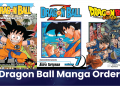 dragon ball manga order